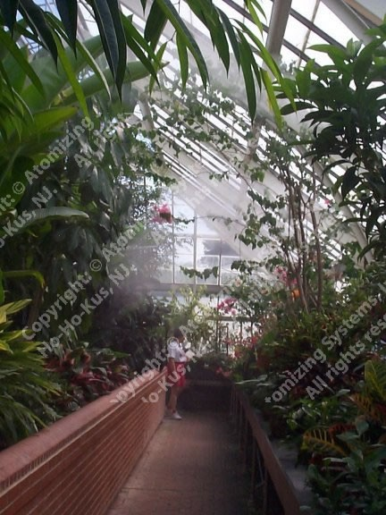 Botanic Garden Humidifications